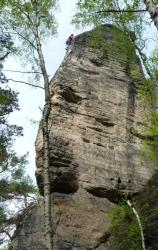 Heiko Verlassener Turm Talweg VIIc nach 2R